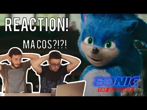 SONIC THE HEDGEHOG TRAILER REACTION ITA (SONIC IL FILM) - MA CHE CAZZ?