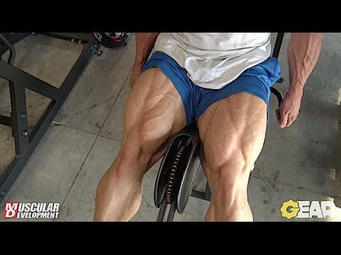 Steve Kuclo | Olympia Bound Leg Training