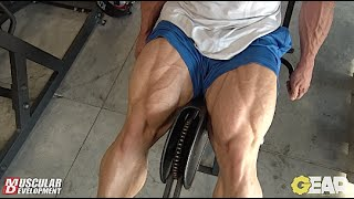 Steve Kuclo | Olympia Bound Leg Training