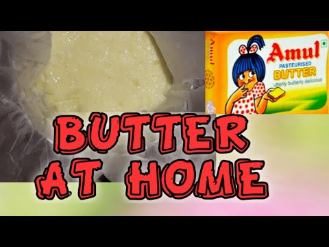 MAKE BUTTER AT HOME