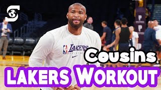 Lakers Demarcus Cousins Workout | Laker Return in 2020?