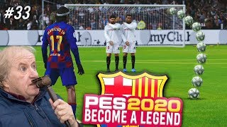 TAKING MY FIRST EVER FREE KICK FOR BARCA!!! - THE ADVENTURES OF MANICIUS JR! - EP#33