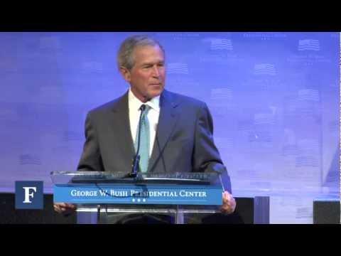 George W. Bush On Tax Policy & Growth