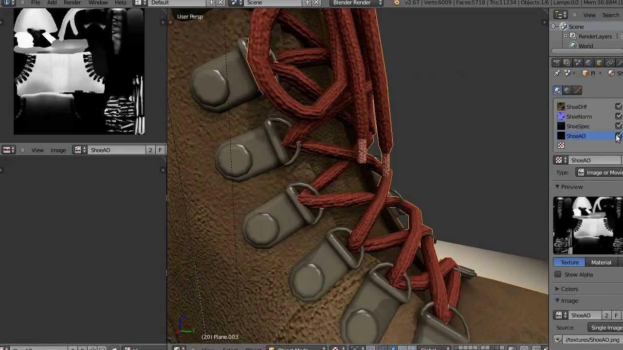 Blender Character Modeling Timelapse : Timelapse modeling shoe in blender d youtube