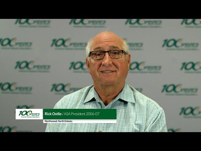 President Profiles Rick Ostlie