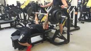 Вова PULLER: жим лежа 131,5 кг. СВ 77 кг. (PULLER bench press 131,5 kg. BW 77 kg)