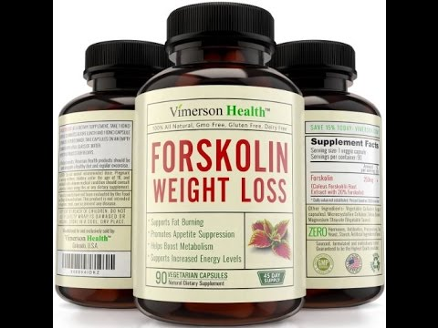100% Pure Forskolin Extract for Extreme Weight Loss Non Gmo, Gluten Free