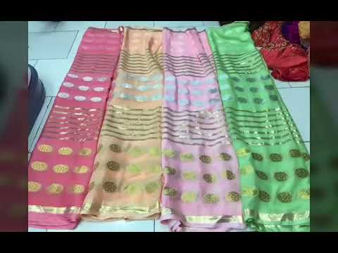 MAN MANDIR SAREES LATEST WORK SAREES COLLECTION HD QUALITY VIDEOS WHATSAAP 9461192309 from YouTube · Duration:  1 minutes 13 seconds