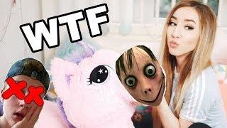 Momo-YouTuber... Tag der Abrechnung