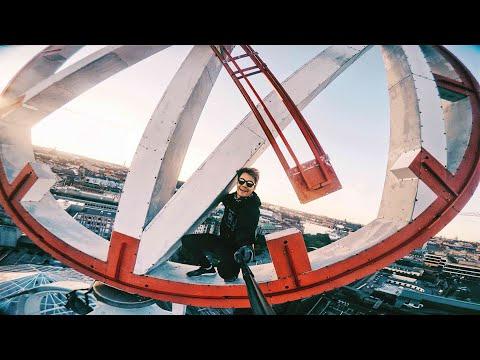 Free Climbing | Spinning clock tower? | NK Klockan Stockholm