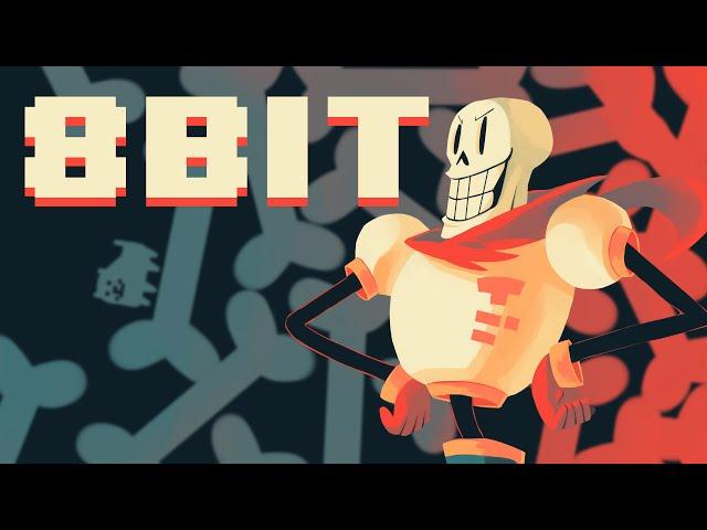 8 Bit Bonetrousle Undertale Youtube