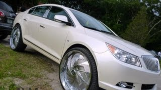 "Wildwood Father's Day 2013 Buick Lacrosse on 28"" DUB Shudda"
