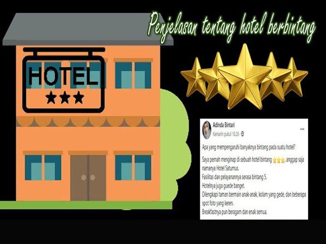 Apa yang mempengaruhi banyaknya bintang dalam suatu hotel