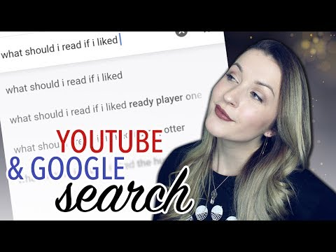 BOOK RECOMMENDATIONS | GOOGLE + YOUTUBE SEARCH thumbnail