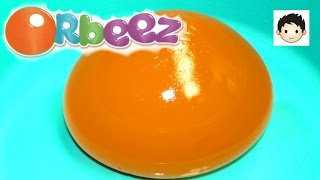 GIANT MAGIC ORBEEZ Water Ball Polymer Super Fun Slicing Videos Worlds Biggest Ever Jonas Toys Review