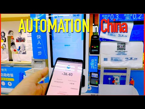 Automated Retail and Services in China  -  Unemployment Threat?