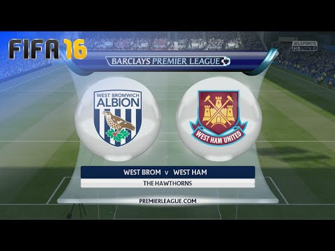 FIFA 16 - West Bromwich Albion vs. West Ham United @ The Hawthorns