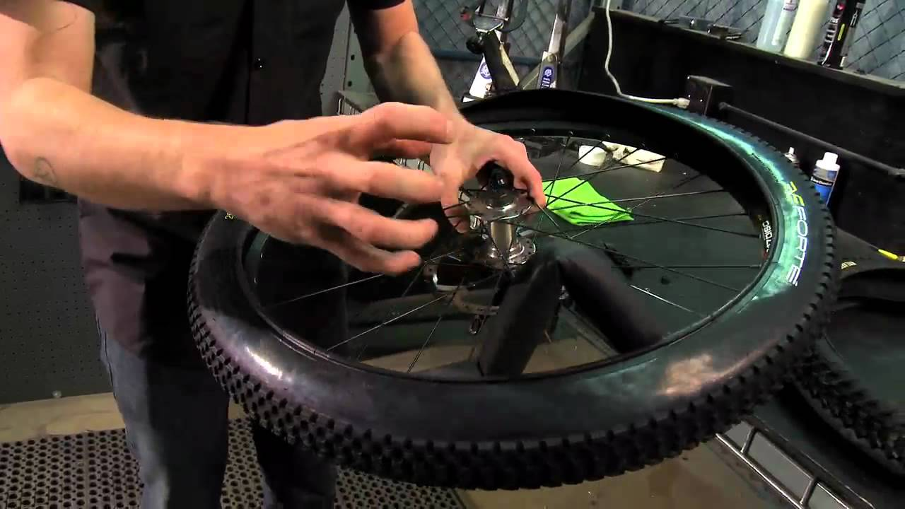 Changing A Mountain Bike Tire From Performance Bicycle Youtube