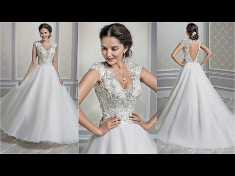 Silk Wedding Dress | The Bridal Collection | Italian Wedding
