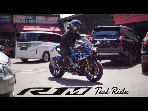 YAMAHA R1M test ride & short review | SUPERBIKE TERENAK YANG PERNAH GUE COBA !!