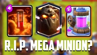 Clash Royale - R.I.P. MEGA MINION? New Balance Changes