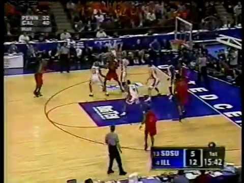SDSU vs. Illinois hoops, NCAA tourney, 2002