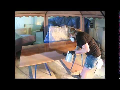 Scandinavian inspired dining table