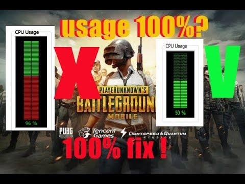 Part 1 Cpu Usage 100 Ini Solusinya 100 Work Pubg Mobile