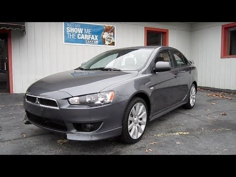 2010 mitsubishi lancer gts start up engine in depth tour. Black Bedroom Furniture Sets. Home Design Ideas
