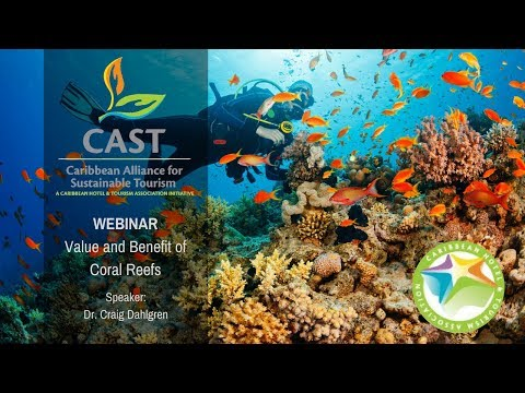 CAST Sustainability Webinar   The Value and Benefit of Coral Reefs