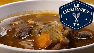 Mushroom Barley Soup Recipe - Legourmettv