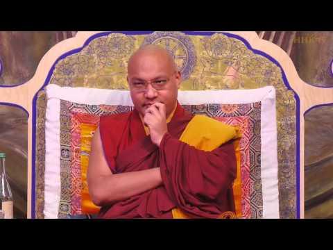 KARMAPA • MUD & GOLD (a Heart Advice given at Bodhicharya Berlin)