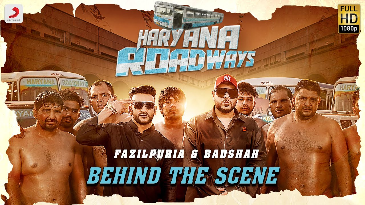 Haryana Roadways - Behind the scenes | Badshah & Fazilpuria | Latest Hit Song 2020