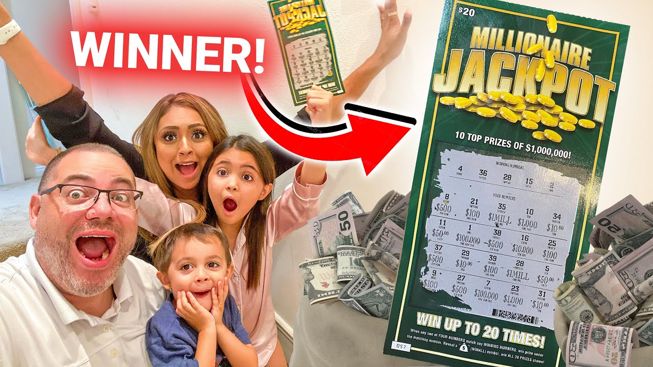 FAKE 1 MILLION LOTTERY TICKET PRANK ON DAD!! (DAD FREAKS OUT!)