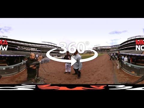 Black belt Walt Weiss, Rockies head coach talks Jon Jones, GSP, MMA and Baseball (360° Video)