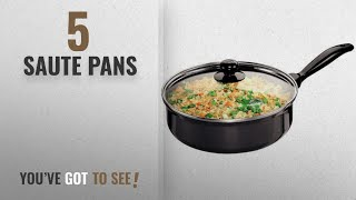 Top 10 Saute Pans 2018 Hawkins Futura Non-Stick Saute 39 Curry Pan with Glass Lid 3 25 Litres