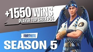 JUGADOR TOP MUNDIAL//+1600 WINS// FORTNITE PS4 CHILE