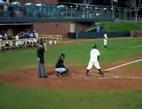 Tyler (7th Heck) Hoechlin's First College At-Bat