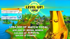 *XP GLITCH* Fortnite How to LEVEL UP FAST in Season 2! FASTEST WAY TO LEVEL UP IN FORTNITE!