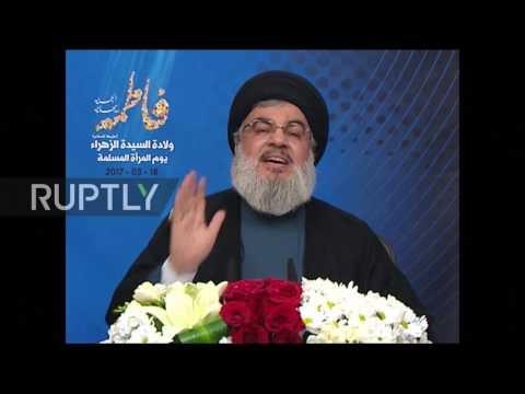 Lebanon: Hezbollah's Nasrallah slams Israeli airstrikes in Syria
