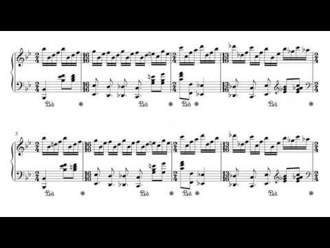 Genesis - Firth of Fifth Piano Intro - Sheet Music + PDF
