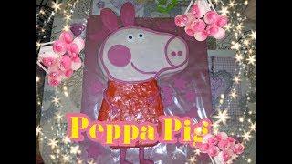 Торт Свинка Пеппа   СВОИМИ РУКАМИ !! CAKE PEPPA PIG FOR GIRLS ON BIRTHDAY