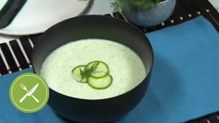 Cold Cucumber Soup Recipe | Shake It Up | Kitchen Daily