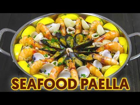 Seafood Paella – Panlasang Pinoy