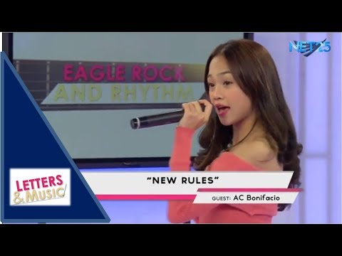 AC BONIFACIO - NEW RULES (NET25 LETTERS AND MUSIC)