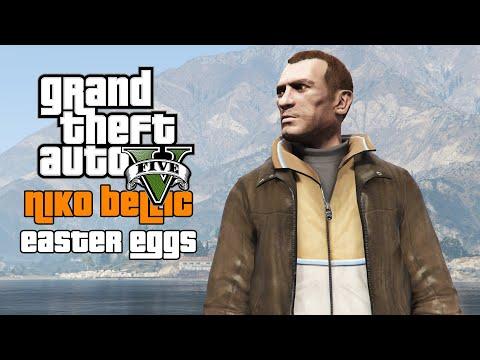 GTA 5 - Best Niko Bellic Easter Eggs! (TOP 8)