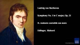 Ludwig van Beethoven, Symphony No. 1 in C major, Op. 21, II. Andante cantabile con moto