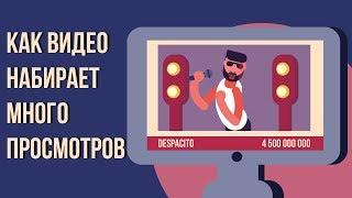 Почему видео набирает много просмотров? Как набрать много просмотров на youtube.