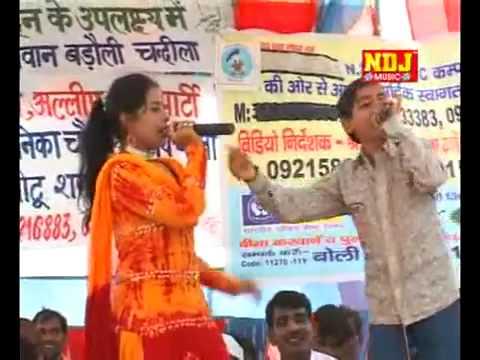 Badoli Chandila Ragni Comption Sushma Thakur with chotta Baccha Sanjay hit Ragni Bhabi mera bayah ka