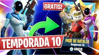 🌟 PASS GRATUIT!😱 'SEASON 10' DE 'FORTNITE' !!! 'TRAILER' ET 'FILTRATIONS' !!